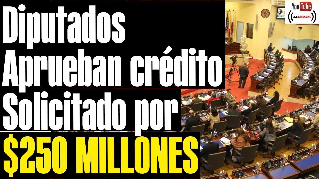 FMLN y PDC votaron en contra del préstamo  de 250 millones