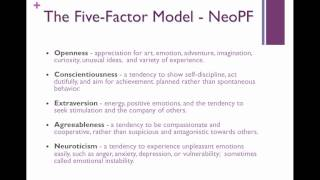 PSYC 368_Personality_FiveFactor_Part 1