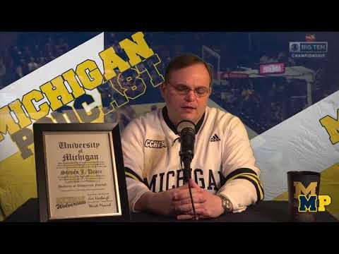 Michigan Podcast #038   Michigan is a Basketball School Now