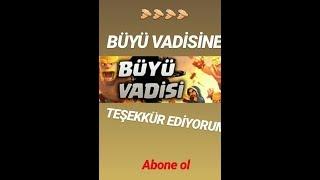 BÜYÜ VADİSİ KANALINA TEŞEKKÜR EDERİM  SİZDE BU AİLE'YE KATILIN