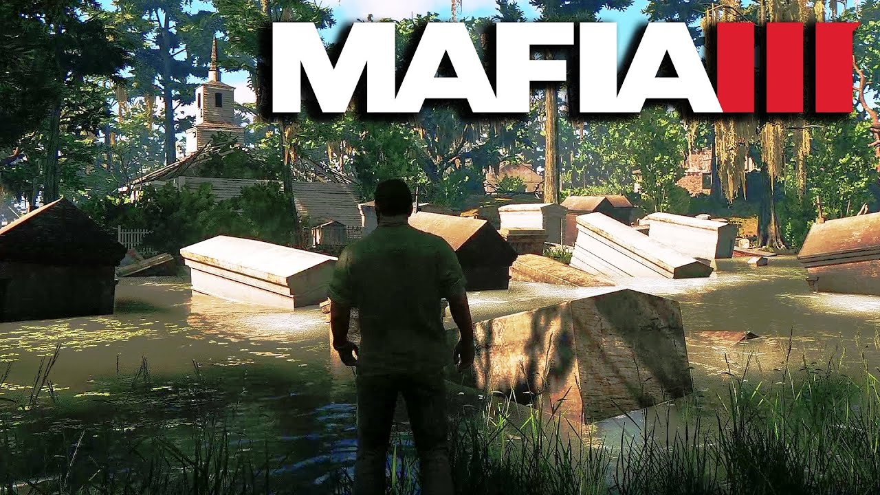 Mafia 3 Secret Location - Sinking Bayou Cemetery (Cut Content)