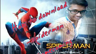 How to download Spiderman home coming in just 800mb with language in 720p✨🌾     🌾     🌾     😏😏