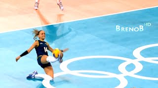 TOP 10 Best Volleyball Actions | Women