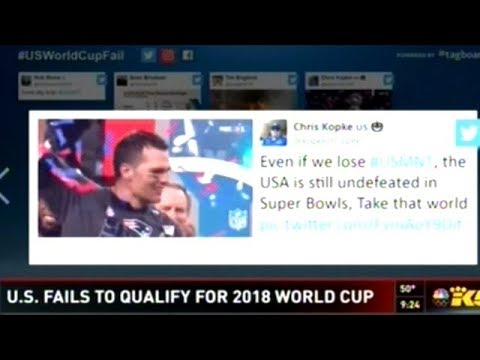 U.S. Fails To Qualify For Soccer's World Cup!