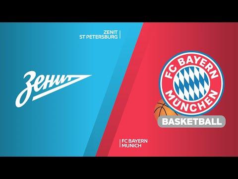 Zenit St Petersburg - FC Bayern Munich Highlights   Turkish Airlines EuroLeague, RS Round 14