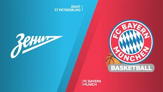 Zenit St Petersburg - FC Bayern Munich Highlights | Turkish Airlines EuroLeague, RS Round 14