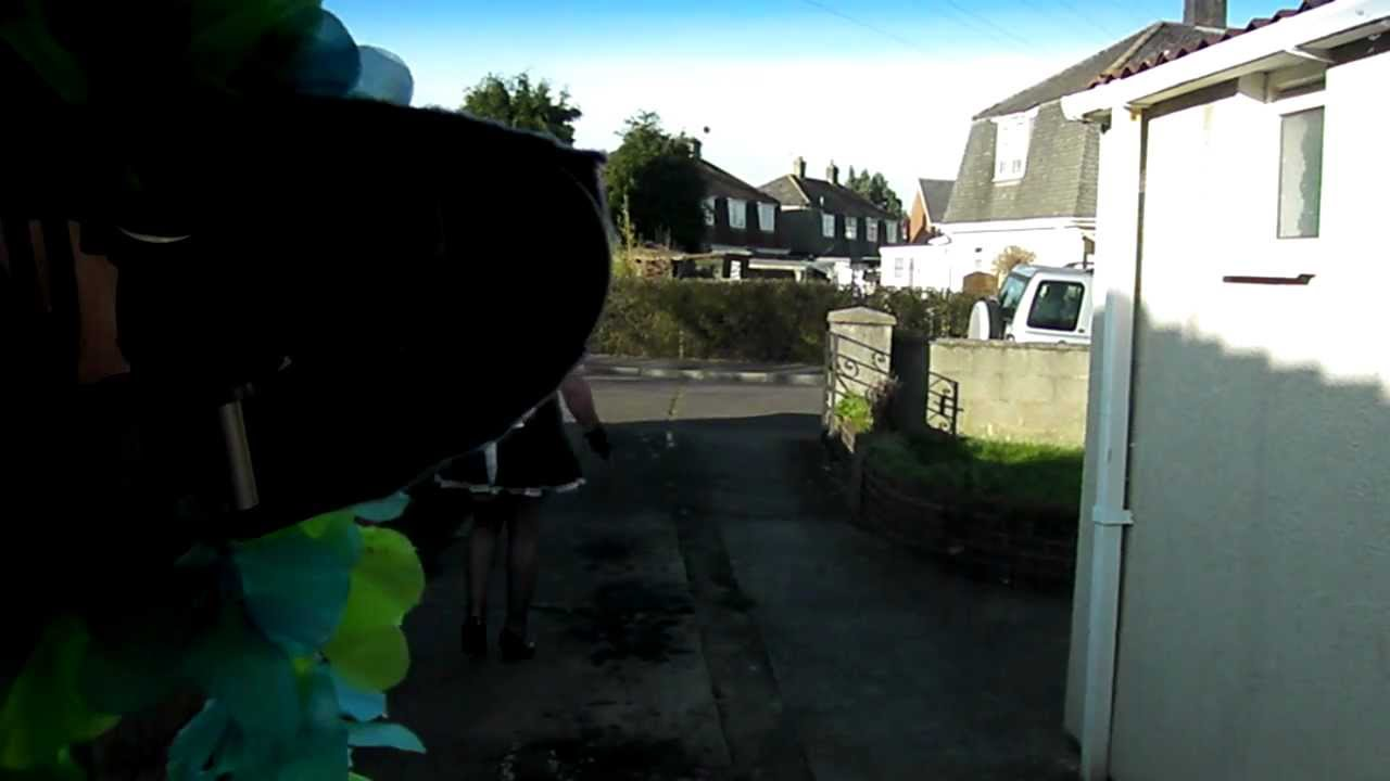 Caught Crossdressing By Neighbor