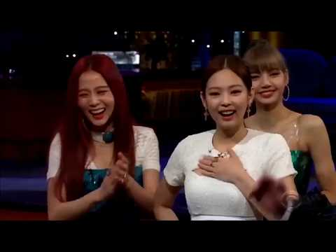 BLACKPINK -  Flinch Game The Late Late Show with James Corden 2019