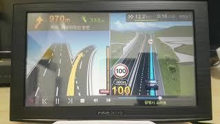 파인드라이브 IQ 3D 7000 네비게이션 3D맵 모의…