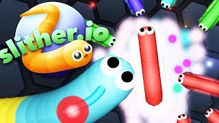 DO YOU REMEMBER THIS CLASSIC .IO GAME? - SLITHER.IO