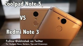 Coolpad Note 5 VS Redmi Note 3 Comparison | Gadgets To Use