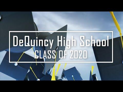 DeQuincy High School 2020 Graduation