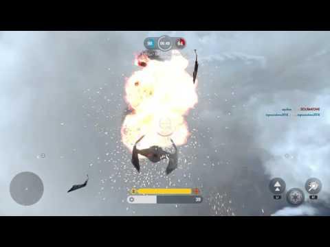 STAR WARS™ Battlefront™Tie Fighter Vs X-Wing |