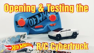Opening & Testing the NEW Hot Wheels R/C Tesla Cybertruck! (2 Months Early!!)