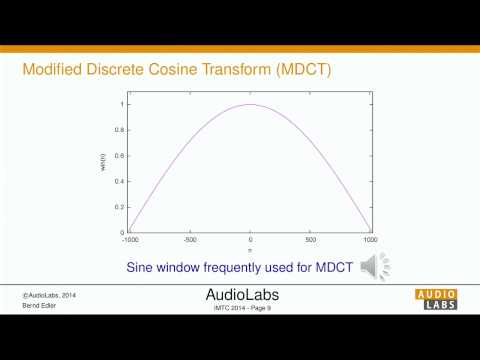 The MDCT and its Applications in Audio Coding