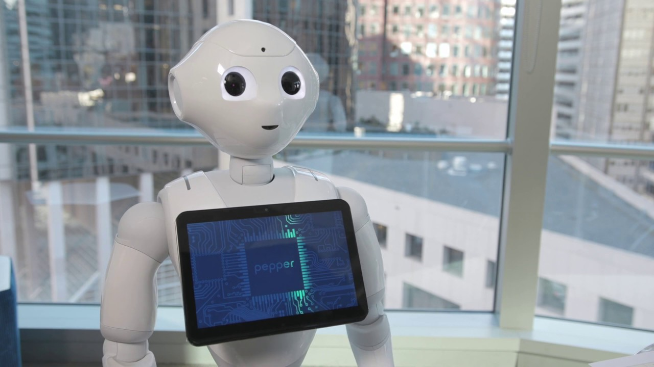 Image result for pepper robot and tethys