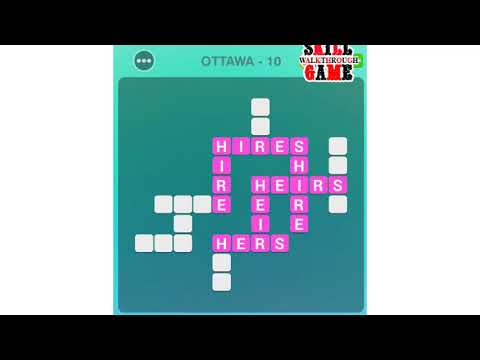 Word Adventure - Ottawa - All Level - Walkthrough