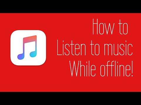 How to listen to music while offline