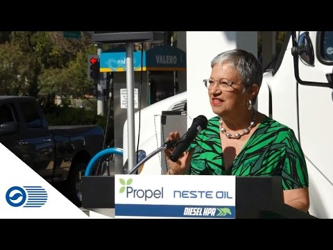 Renewable diesel launches in California