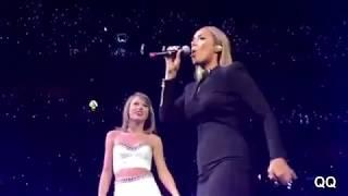 [Full] Leona Lewis & Taylor Swift - Bleeding love (live on 1989 world tour)