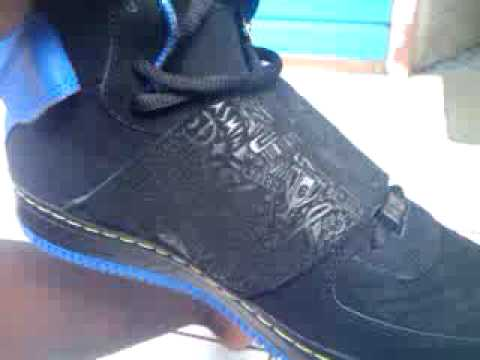 are my air jordan fusion 20 s real or not  ajf 20 - YouTube 12271e3ed1