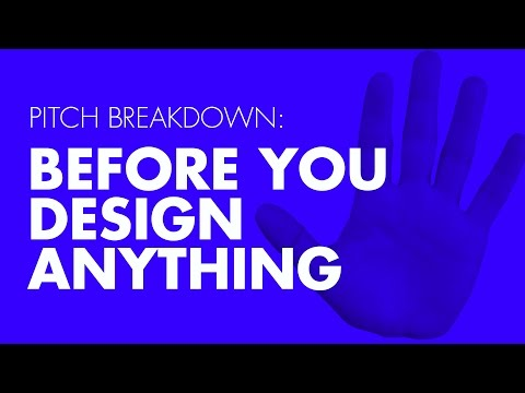 3 Things To Do Before You Design Anything