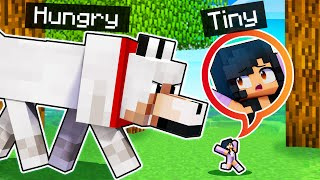 I'm TINY And EATEN ALIVE In Minecraft!