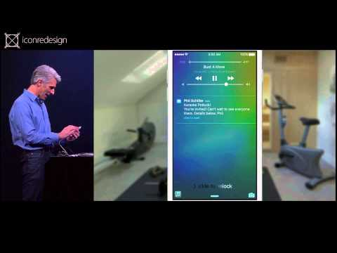 Craig Federighi strikes again - WWDC 2015 supercut