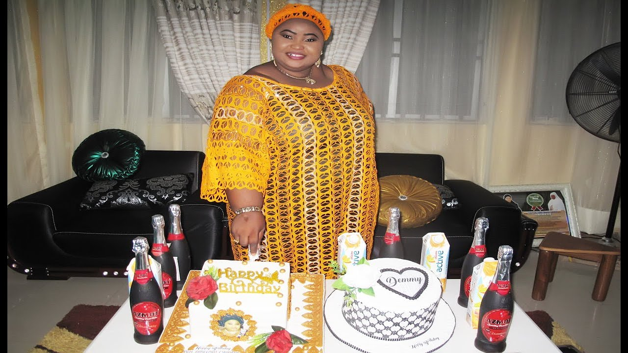 Download Aminat Ajao Obirere Celebrates birthday at her country home Ilorin with her family