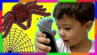 ARANHA GIGANTE de Controle Remoto | Brinquedos e Surpresas