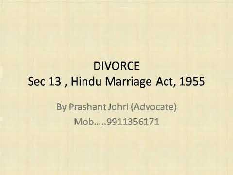 Grounds of Divorce