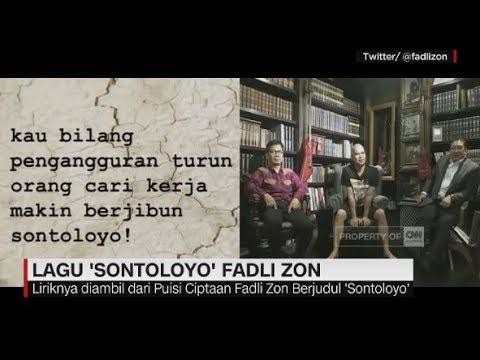 Nyanyikan Lagu 'Sontoloyo', Fadli Zon Berkolaborasi Dengan Ahmad Dhani & Sang Alang