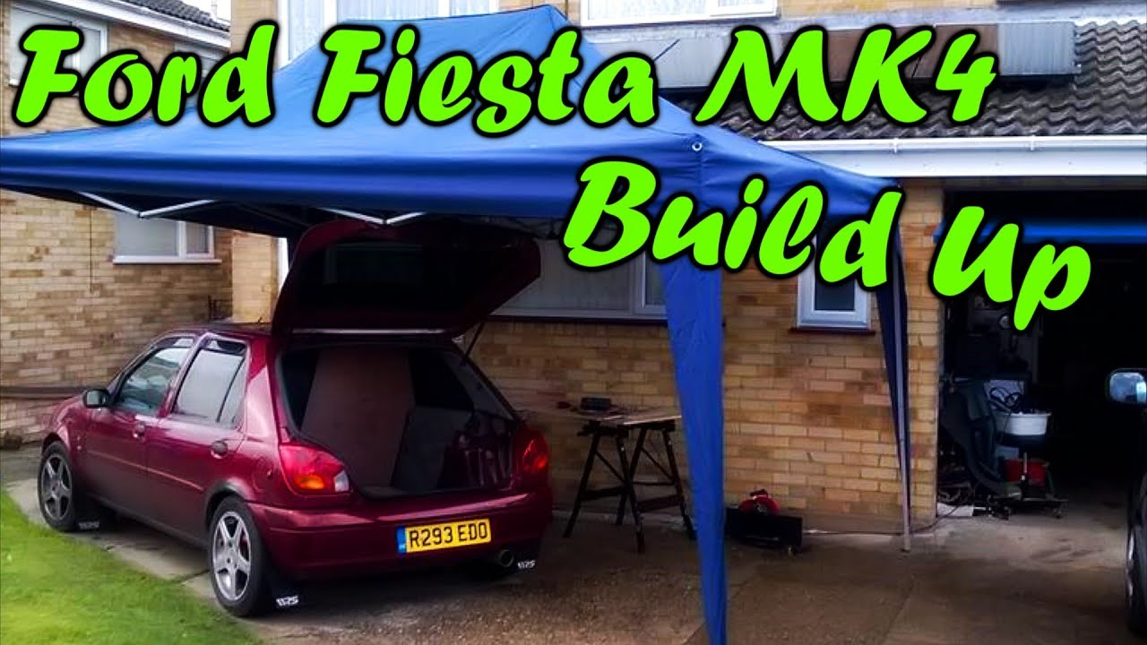 build up from day 1 ford fiesta mk4 zetec s ghia 5dr. Black Bedroom Furniture Sets. Home Design Ideas