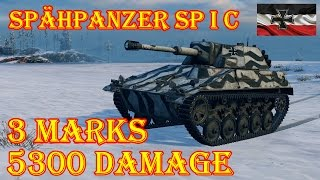 Best replays  Spähpanzer SP I C  3 MARKS  Arctic Region WoT