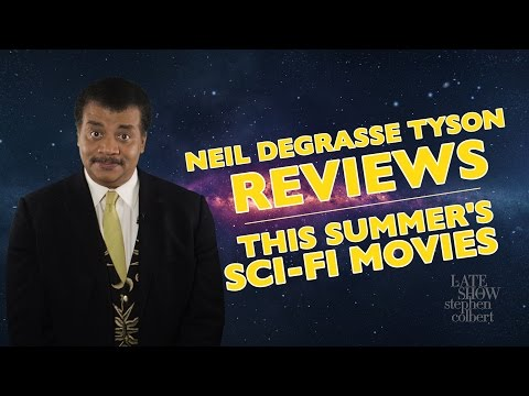 Neil deGrasse Tyson Reviews This Summer's Sci-Fi Movies