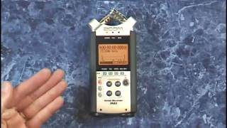 """Zoom H4n Tutorial Review Connections 1/4"""" and XLRs"""