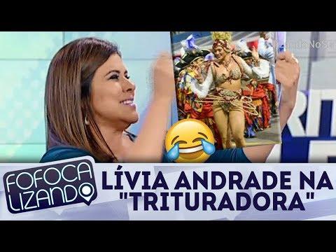 Mara Maravilha fala sobre fantasia de Lívia Andrade | Fofocalizando (16/02/18)