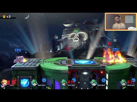 Super Smash Bros. Ultimate - Unlocking Dr. Wily Spirit (Hard Mode)