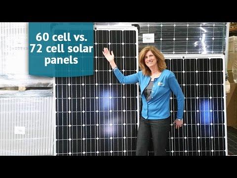 Solar Panels for Beginners 60 cell vs 72 cell solar panels - YouTube