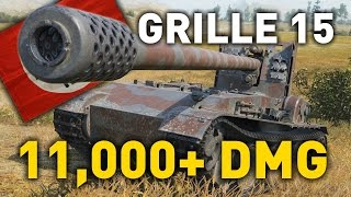 World of Tanks || Grille 15 cm - 11,000+ DMG...