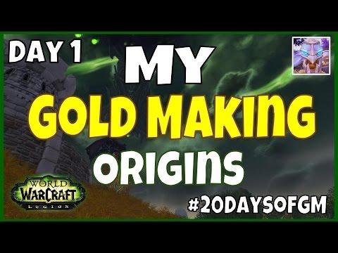 WoW Gold Farming - My Beginning - Day 1 | #20DaysofGM