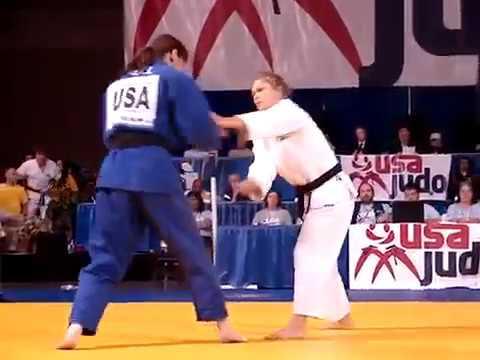 JUDO 2010 USA Championships: Ronda Rousey (USA) - Katie Sell (USA)
