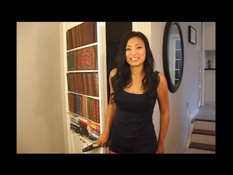How To Build A Secret Bookcase Door Diy Youtube