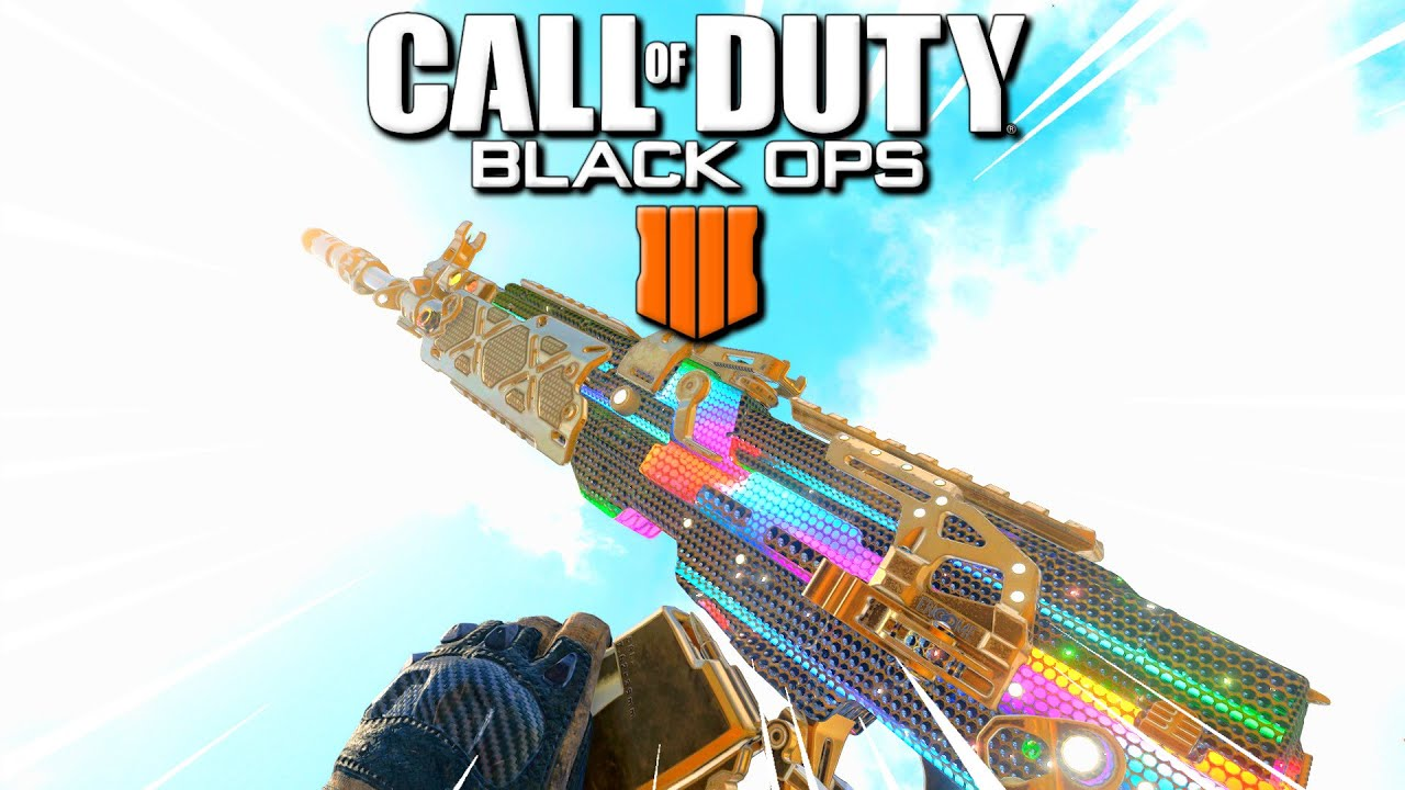 I unlocked the RAINBOW DIAMOND camo in Black Ops 4..