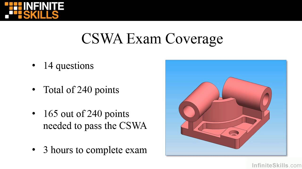 cswa Cswa exam (certified solidworks associate) as a certified solidworks associate (cswa), you will stand out from the crowd in today's competitive job market.