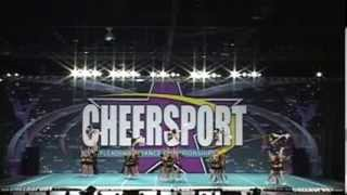 University of Regina Cheerleading - Cheersport Nationals 2011 - Day 1 - Open Coed 6