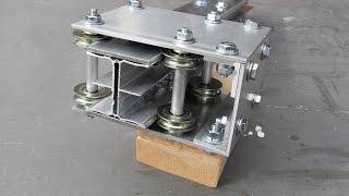 Linear slide/rail/cam roller for a grinder DIY Part 1/2