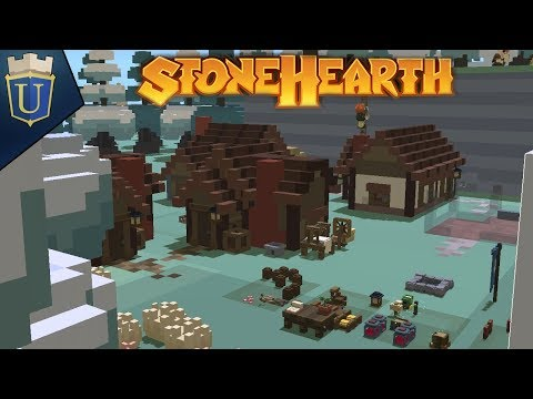 Gaining a Foothold   Stonehearth Gameplay   Hard Mode 2