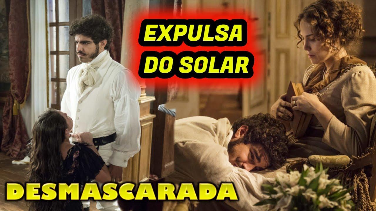 NOVO MUNDO EXPULSA DO SOLAR-Dom Pedro DESCOBRE FARSA de DOMITILA e PEDE PERDÃO a LEOPOLDINA