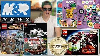 lEGO Summer 2020 Sets from Toy Fair! LEGO Black Widow Set!  LEGO NEWS